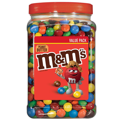 M&M'S Peanut Butter Chocolate Candy (55 oz.)
