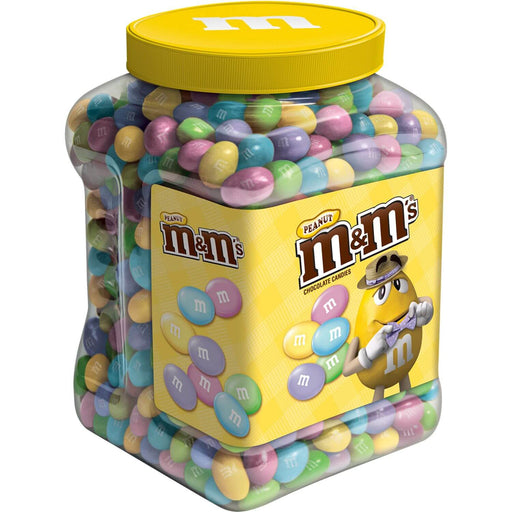 M&M'S Peanut Chocolate Easter Candy Jar (62 oz.)
