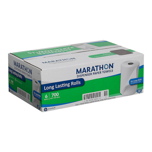 Marathon Dispenser Roll Paper Towels (700ft., 6 Rolls)