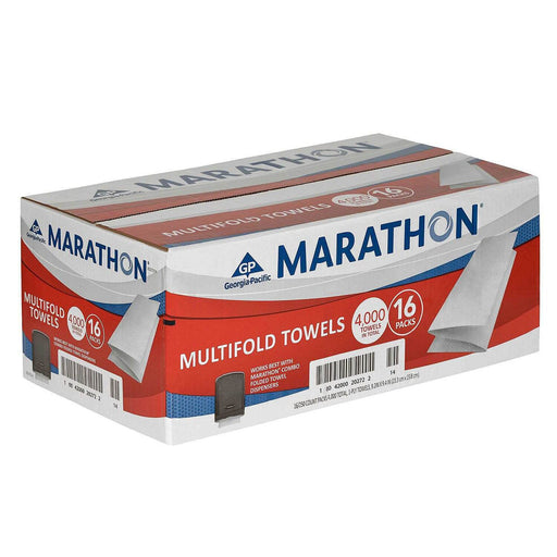 Marathon Multifold Paper Towels, 16 Packs (4000 Sheets)