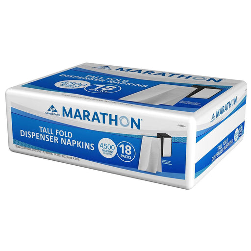 Marathon Tall Fold Dispenser Napkins (4,500 Napkins)