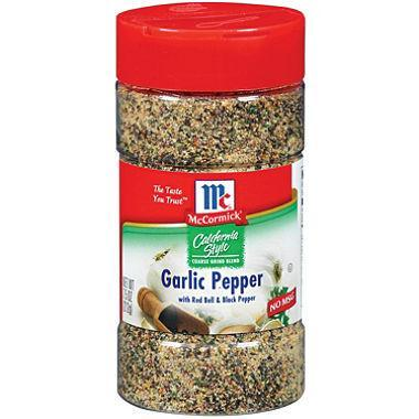 McCormick California Style Coarse Grind Blend Garlic Pepper (7.5 oz.)