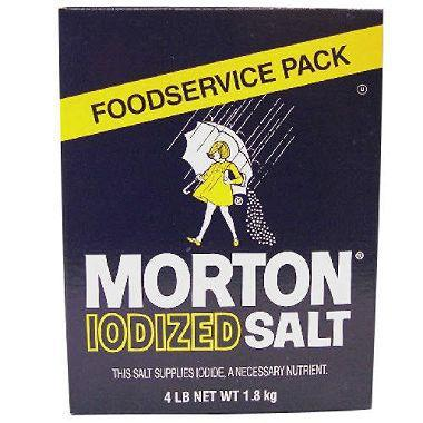 Morton Iodized Salt (4 lb. box)