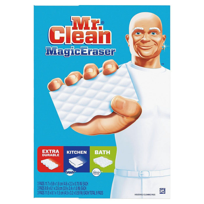 Mr. Clean Magic Eraser Variety Pack (9 ct.)