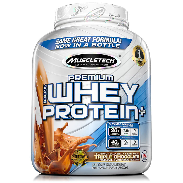 MuscleTech Premium 100% Whey Protein, Chocolate (5 lbs.)