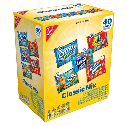 Nabisco Classic Mix Variety Pack (1 oz., 40 ct.)