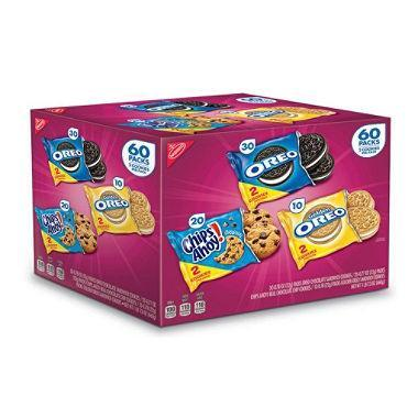 Nabisco Cookie Variety Pack (60 pk.)