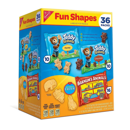 Nabisco Fun Shapes Variety Pack (1 oz., 40 ct.)