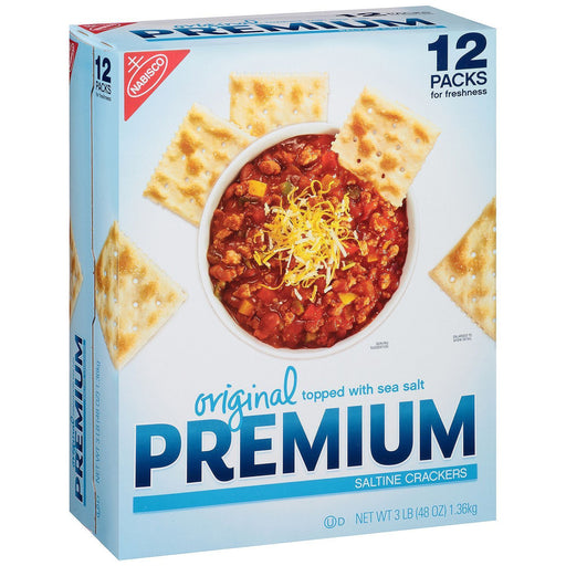 Premium Saltine Crackers, Original (48 oz.)