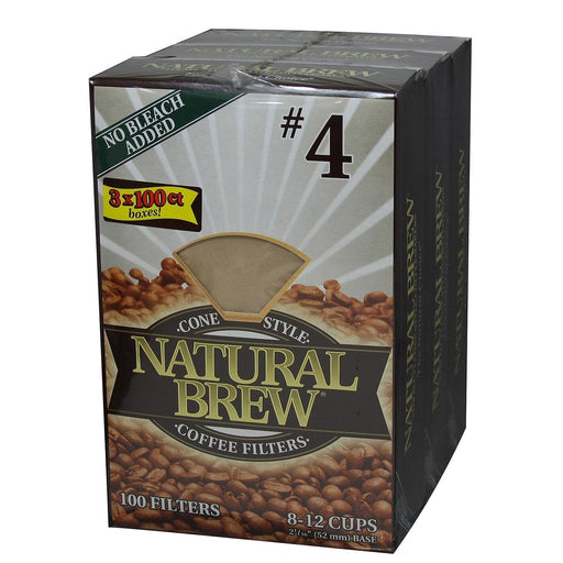 Natural Brew Coffee Filters - 3 pk. - 100 ct. each