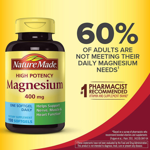 Nature Made Magnesium 400 mg (150 ct.)