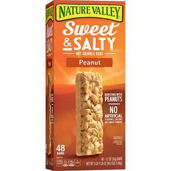 Nature Valley Sweet & Salty Peanut Bar (1.2 oz., 48 ct.)