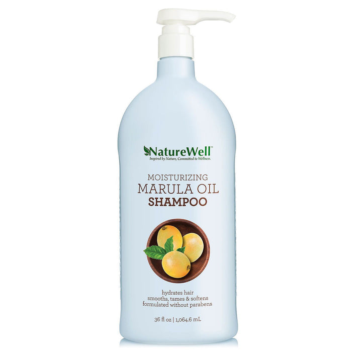 Nature Well Moisturizing Shampoo, Marula Oil (36 fl. oz.)