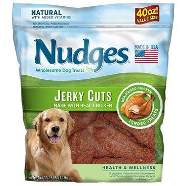 Nudges Chicken Jerky Cuts (40 oz.)