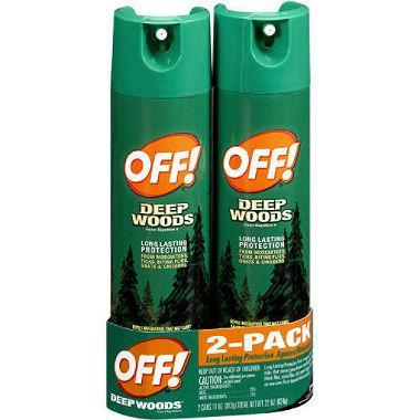 Off! Deep Woods Insect Repellent (11 oz., 2 pk.)