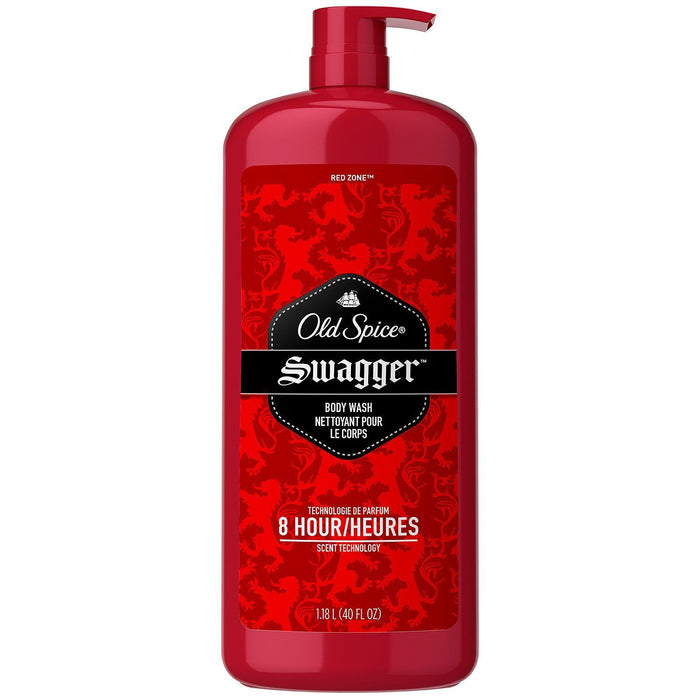 Old Spice Red Zone Men's Body Wash, Swagger (40 fl. oz.)