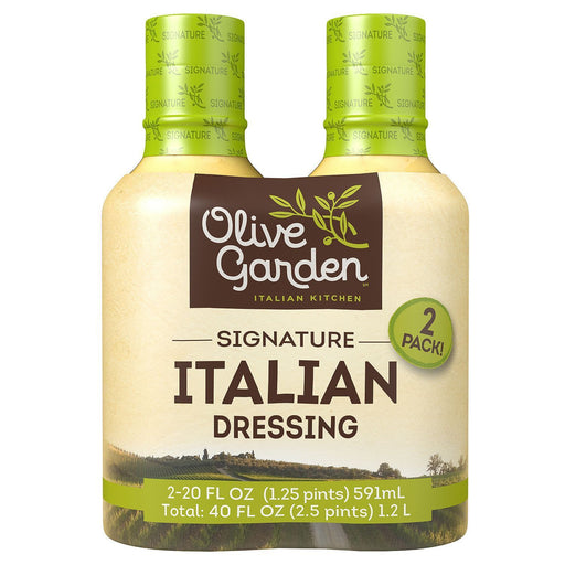 Olive Garden Signature Italian Dressing (20 oz., 2 ct.)