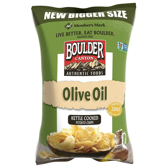 Olive Oil Kettle Cooked Potato Chips (24 oz.)