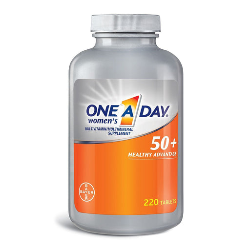 One A Day Women's 50+ Multivitamin (220 tablets)