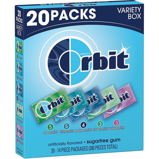 Orbit Sugar-Free Gum Variety Box (20 pk.)
