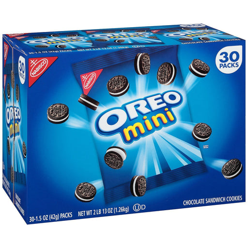Oreo Chocolate Sandwich Cookies, Minis (1.5 oz. ea., 30 pk.)