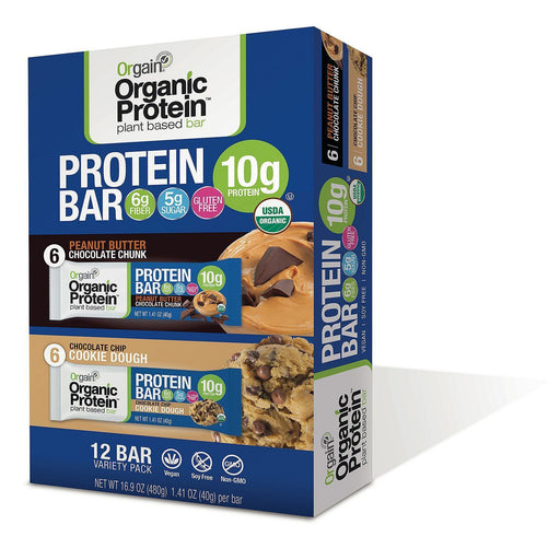 Orgain Organic Protein Bar (1.41 oz., 12 ct.)