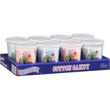 Parade Cotton Candy Tubs
