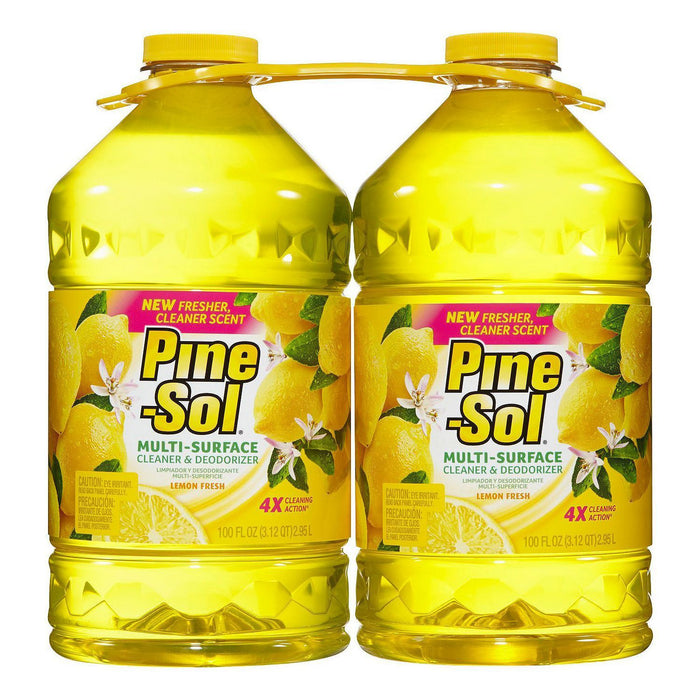 Pine-Sol Multi-Surface Cleaner, Lemon Fresh (100 oz., 2 pk.)