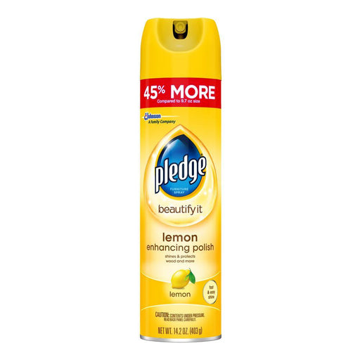 Pledge Spray, Lemon Scent (14.2 oz.) - EZneeds