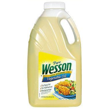 Pure Wesson Vegetable Oil (1.25 gal.)