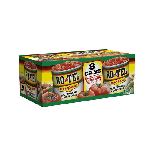 Rotel Diced Tomatoes & Green Chilies (10 oz. cans, 8 ct.)