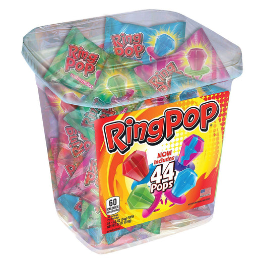 Ring Pop Assorted Jar (44 ct.)