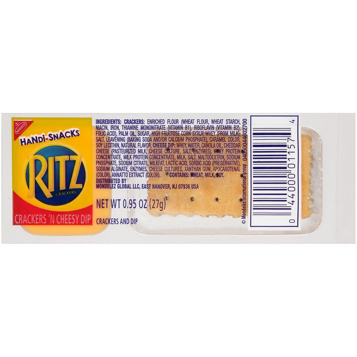 Ritz Crackers 'N Cheesy Dip (0.95 oz., 30 pks.) Pack
