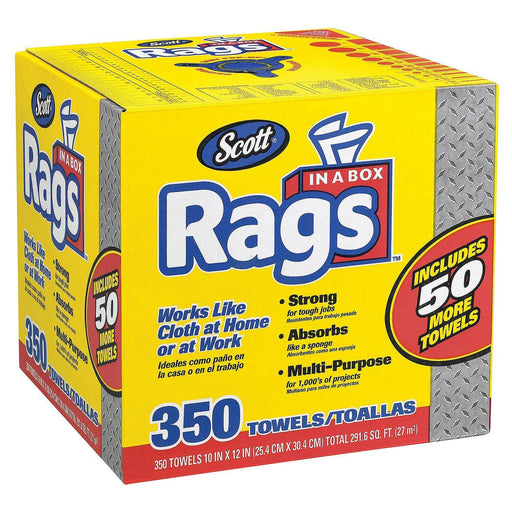 Scott Shop Rags In A Box (350 ct.)