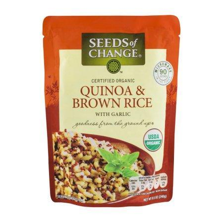 Seeds of Change Organic Quinoa and Brown Rice with Garlic (8.5 oz.)
