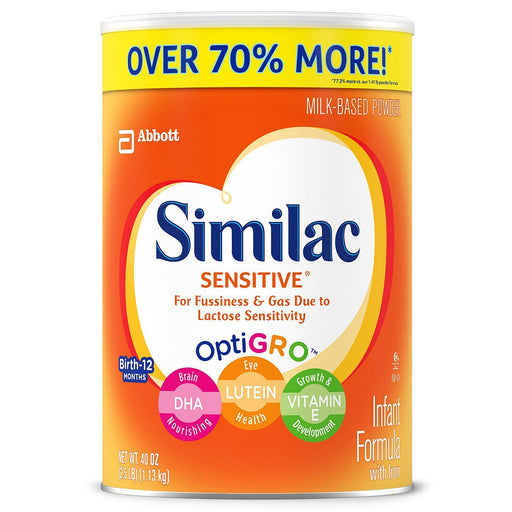 Similac Sensitive Infant Formula with Iron (40 oz.)