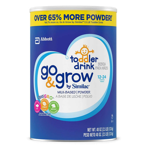 Similac Go & Grow Milk-Based Toddler Drink (40 oz.)
