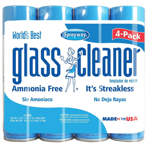Sprayway Glass Cleaner (19 oz., 4 pk.)