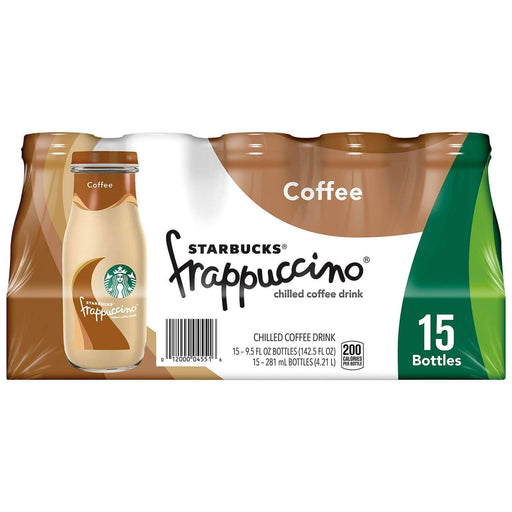 Starbucks Frappuccino Coffee Drink, Coffee (9.5 oz., 15 pk.) - EZneeds