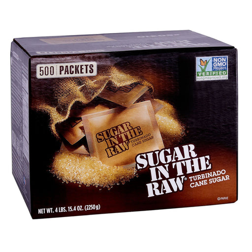 Sugar In The Raw Natural Cane Turbinado Sugar (500 packets)