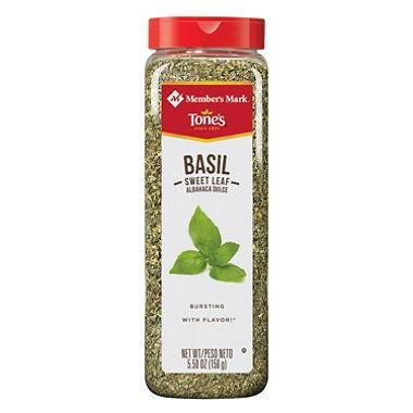 Tone's Sweet Basil Leaves
