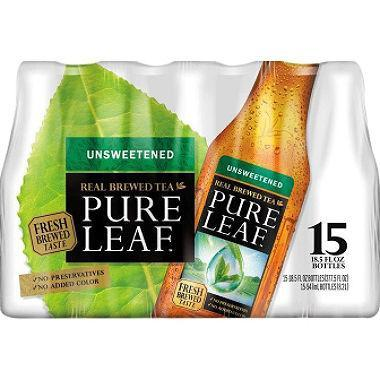 Pure Leaf Unsweetened Iced Tea (18.5 oz., 15 pk.)