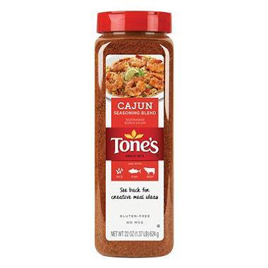 Tone's Cajun Seasoning (22 oz.)
