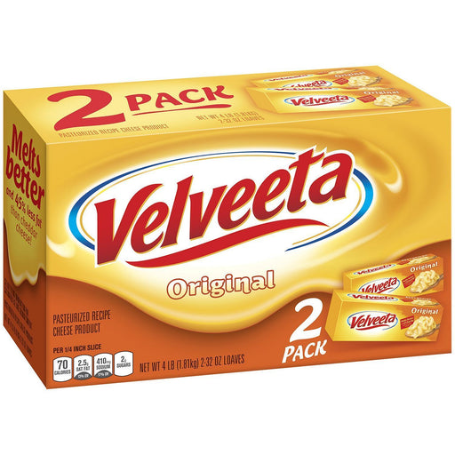 Kraft Velveeta Original Cheese (32 oz., 2 ct.)