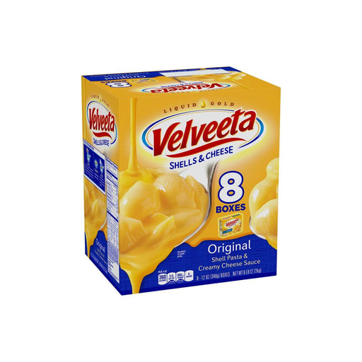 Velveeta Shells & Cheese, Original (12 oz., 8 pk.) - EZneeds