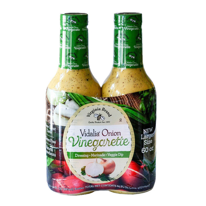 Virginia Brand Vidalia Onion Vinaigrette (30 oz. ea., 2 pk.)