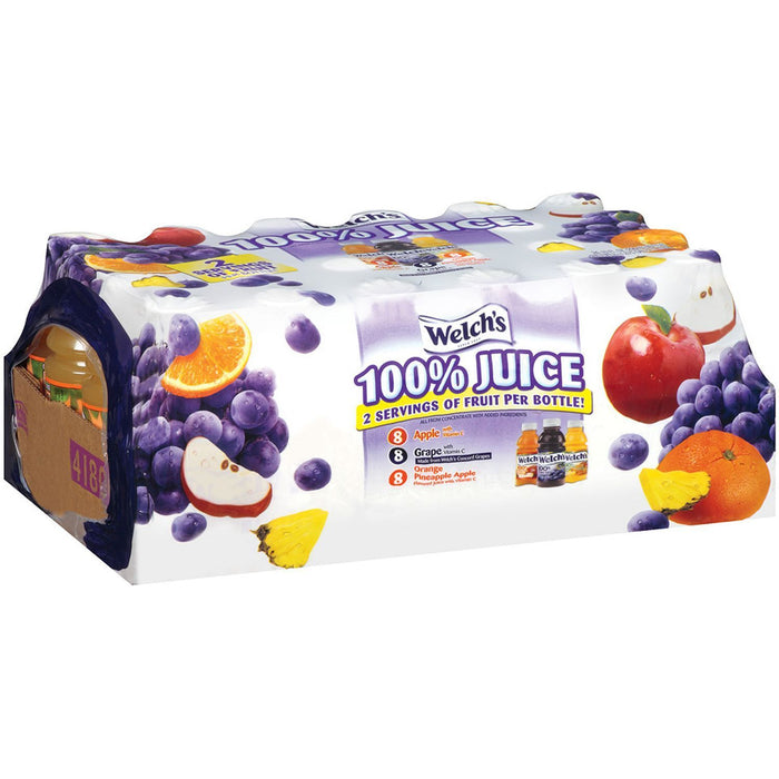 Welch's 100% Juice Variety Pack (10 oz., 24 ct.)