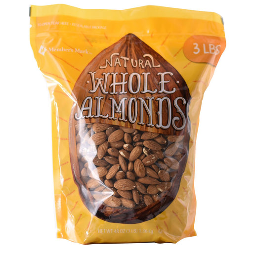 Whole Almonds (3 lbs.)