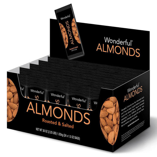 Wonderful Almonds Roasted & Salted (1.5oz, 24ct.)