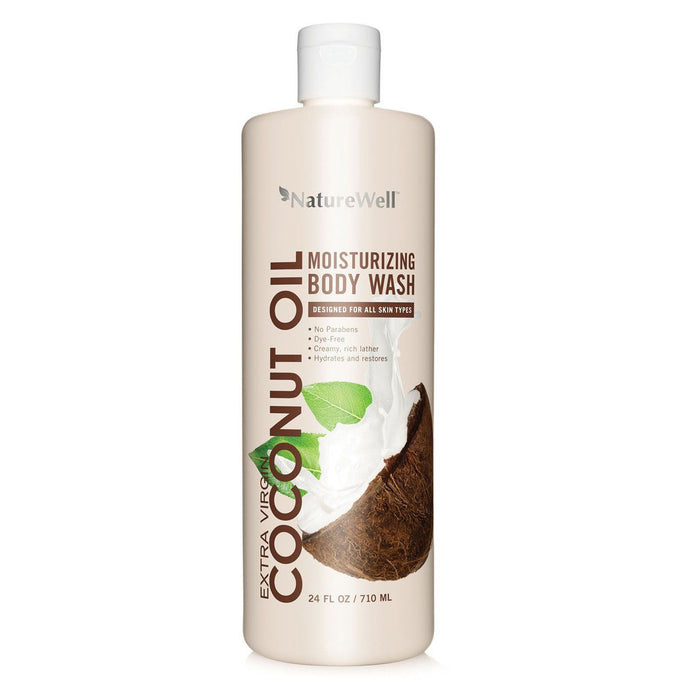 Nature Well Coconut Oil Body Wash (24 fl. oz.)